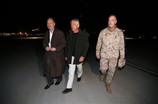 Chuck Hagel, James Cunningham, Joseph Dunford