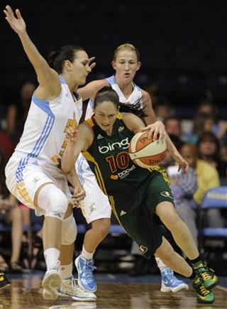 Sue Bird, Sonja Petrovic