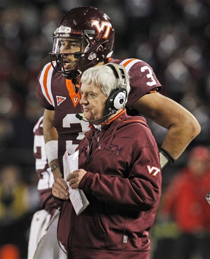 Logan Thomas, Frank Beamer