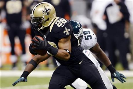 Mark Ingram, DeMeco Ryans