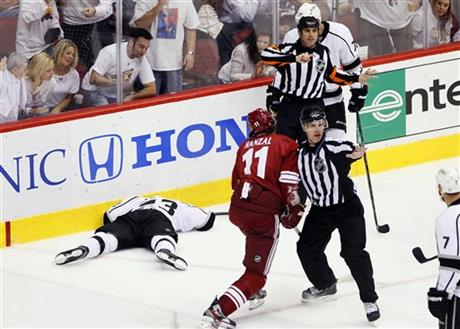 Dustin Brown, Martin Hanzal