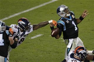 APTOPIX Super Bowl Football