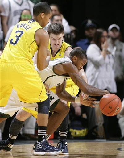 Trey Burke, Stu Douglass, Keith Appling