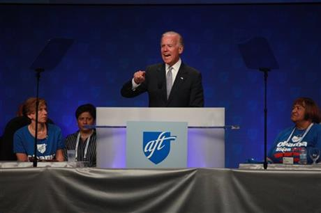 Joe Biden, Randi weingarten