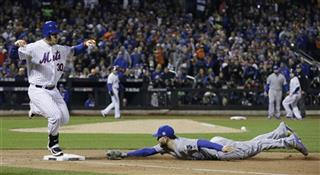 APTOPIX World Series Royals Mets Baseball