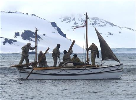 Antarctica Shackleton Reenactment