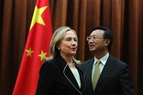 China Asia Clinton