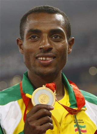 London Olympics Athletics Men Bekele&#039;s Stand