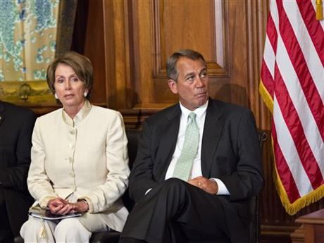 John Boehner, Nancy Pelosi