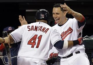Asdrubal Cabrera, Carlos Santana