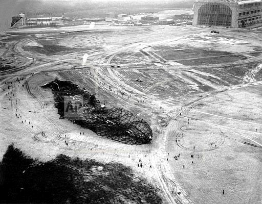 Associated Press Domestic News New Jersey United States HINDENBURG EXPLOSION