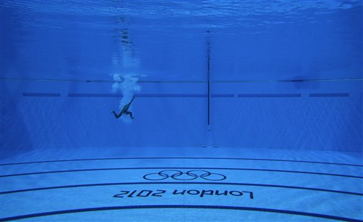 APTOPIX London Olympics Diving