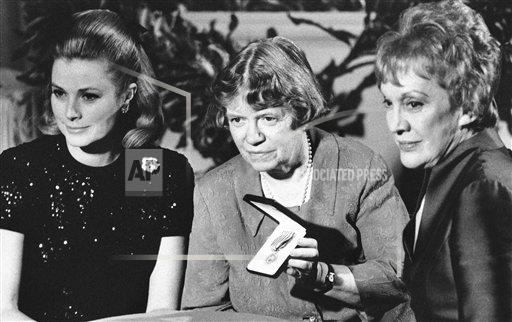 Watchf AP A  PA USA APHS431886 Dr. Margaret Mead with Princess Grace and Pauline Frederick