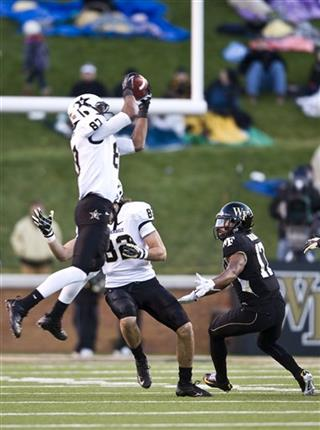 Vanderbilt Wake Forest Football