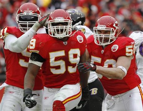 Tamba Hali, Jovan Belcher, Mike Vrabe