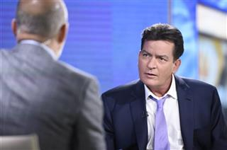 Charlie Sheen, Matt Lauer