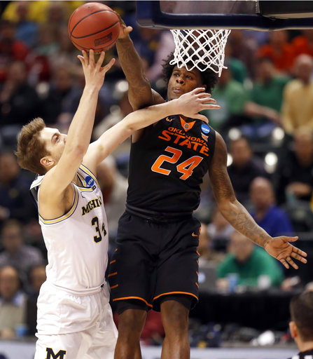 Oklahoma St Michigan Basketball