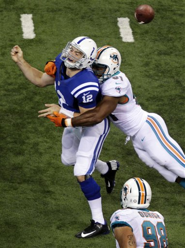 Cameron Wake, Andrew Luck