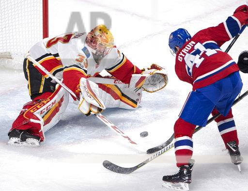 Flames Canadiens Hockey