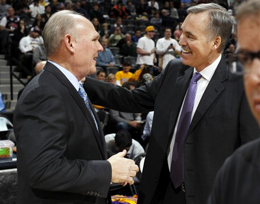 George Karl, Mike D'Antoni