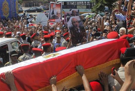 Mideast Egypt Spy Chief Funeral