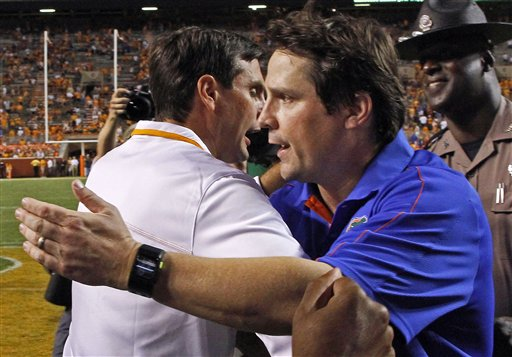 Derek Dooley, Will Muschamp