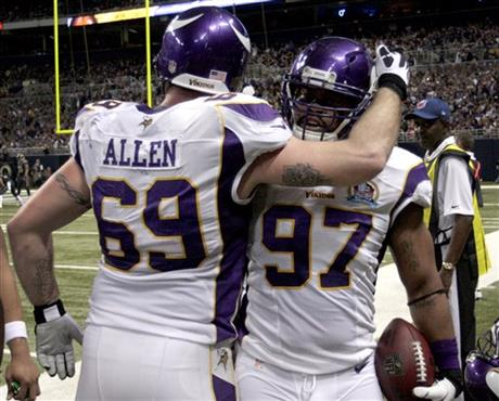 Jared Allen, Everson Griffen