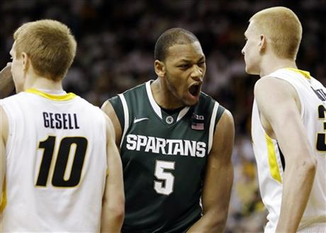 Adreian Payne, Mike Gesell, Aaron White