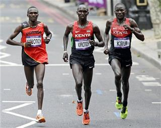Stephen Kiprotich, Wilson Kipsang Kiprotich, Abel Kirui