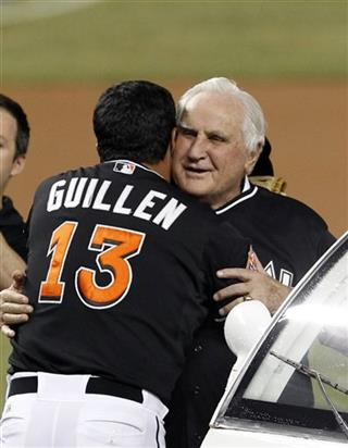 Ozzie Guillen, Don Shula