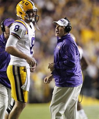 Les Miles,  Zach Mettenberger
