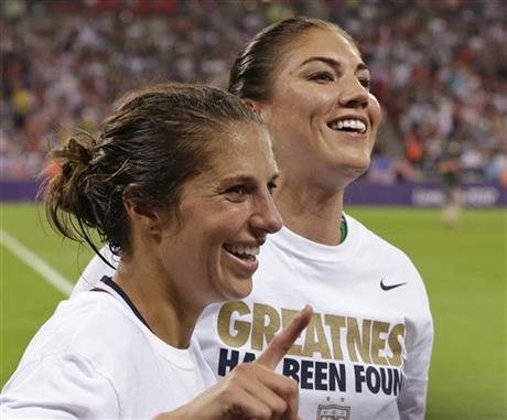 Hope Solo, Carli Lloyd