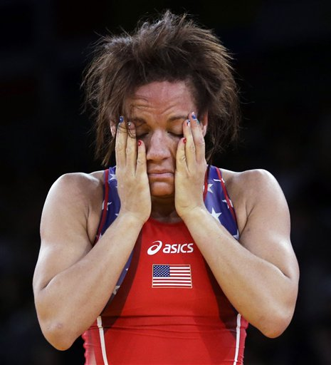 APTOPIX London Olympics Wrestling Women
