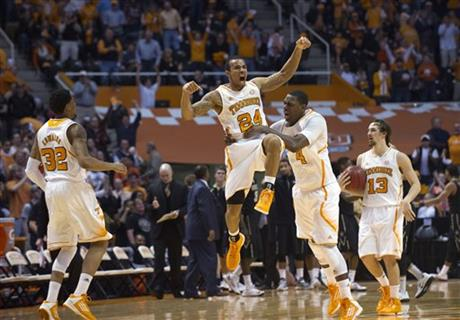 APTOPIX Vanderbilt Tennessee Basketball