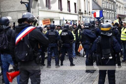 APTOPIX France Protests