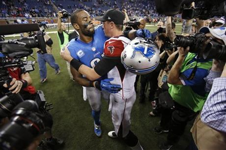 Matt Ryan, Calvin Johnson jr.