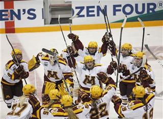 Frozen Four Boston College Minnesota Hockey