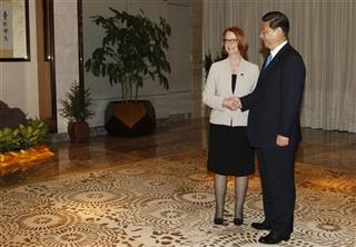Xi Jinping, Julia Gillard