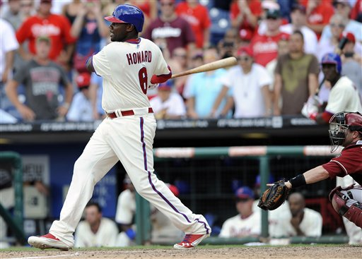 Ryan Howard, Miguel Montero