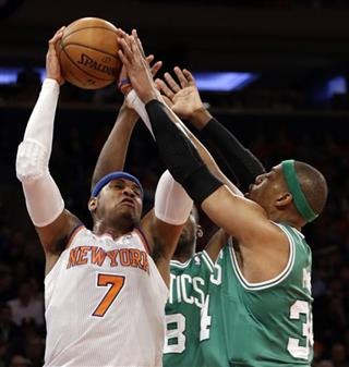 Carmelo Anthony, Jasson Terry, Paul Pierce