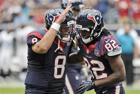 Matt Schaub, Keshawn Martin