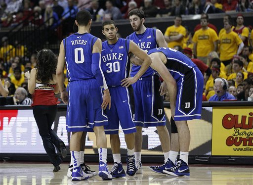 Seth Curry, Austin Rivers, Ryan Kelly, Miles Plumlee