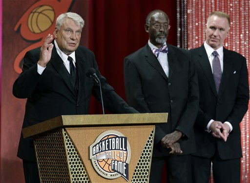 Don Nelson, Satch Sanders, Chris Mullin