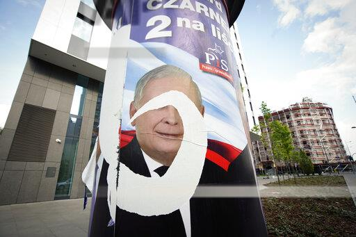Elections posters in Warsaw