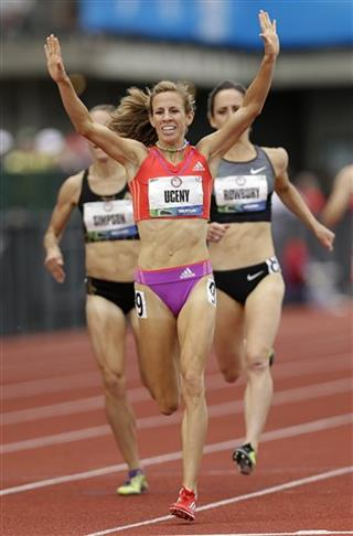Morgan Uceny, Shannon Rowbury, Jenny Simpson