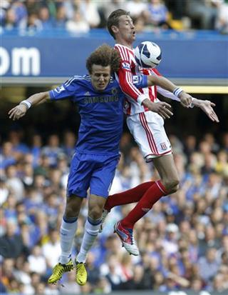 David Luiz, Peter Crouch