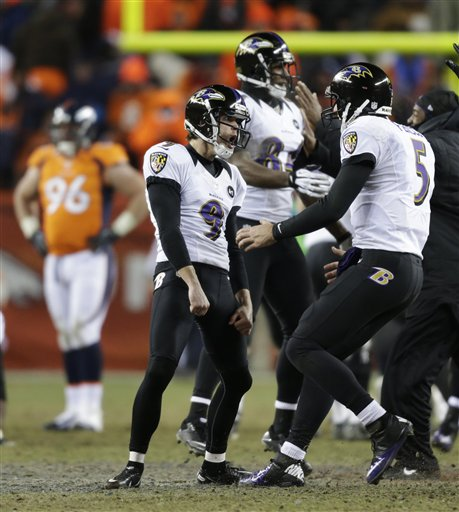 Justin Tucker, Joe Flacco