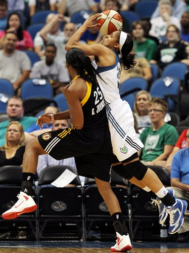Maya Moore, Glory Johnson