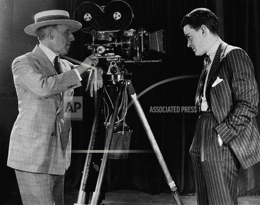 Watchf Associated Press Domestic News Entertainment New York United States APHS60485 D.W. Griffith does screen test