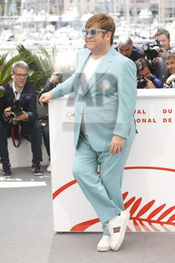 France Cannes 2019 Rocketman Photo Call